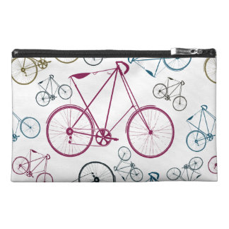 Vintage Bicycle Pattern Gifts for Cyclists Travel Accessory Bag