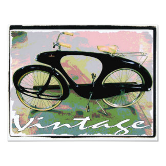 vintage Bicycle Personalized Announcements