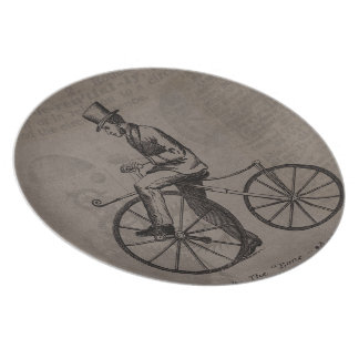 Vintage Bicycle plate