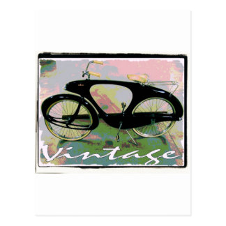 vintage Bicycle Postcard