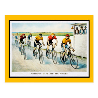 Vintage Bicycle Postcard:  :Wheelmen