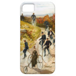 Vintage Bicycle Ride in the Country iPhone 5 Case