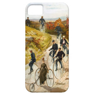 Vintage Bicycle Ride in the Country iPhone SE/5/5s Case