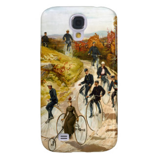Vintage Bicycle Ride in the Country Samsung Galaxy S4 Case
