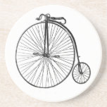 Vintage Bicycle Sandstone Coaster