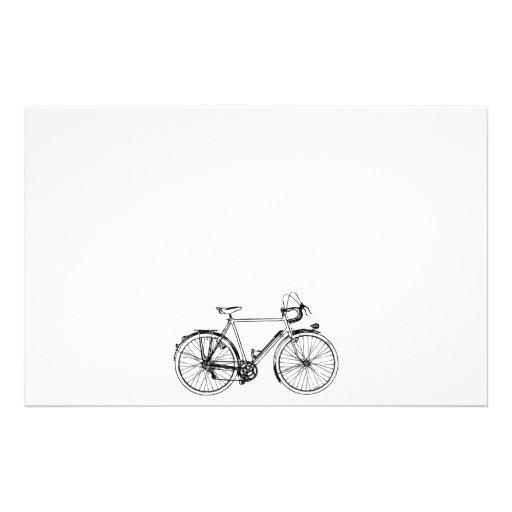 Vintage Bicycle Stationery Design