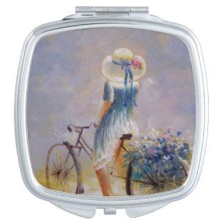 Vintage Bicycle Vanity Mirror