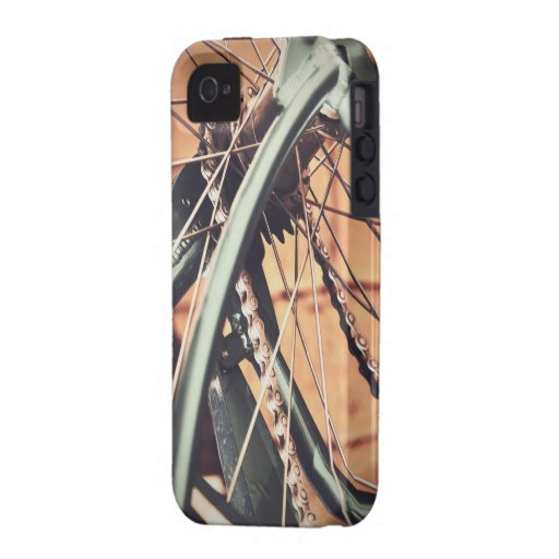 Vintage Bicycle Vibe iPhone 4 Cover