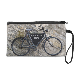 Vintage Bicycle Wristlet Purse