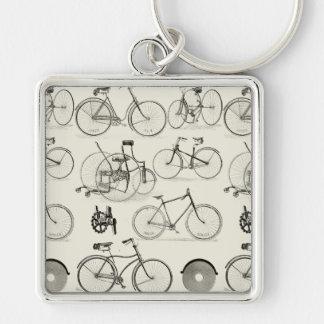 Vintage Bicycles Key Chains