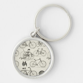 Vintage Bicycles Keychains
