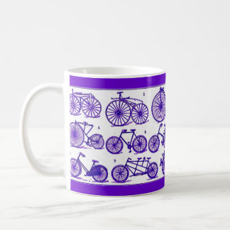 Vintage Bicycles Classic White Coffee Mug