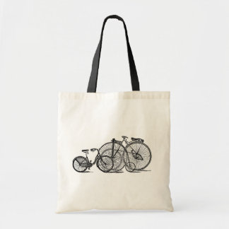 Vintage Bicycles Old Fashion Bicycle Tote Bags
