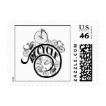 Vintage Bicycles Recycle Apparel and Gifts Stamp