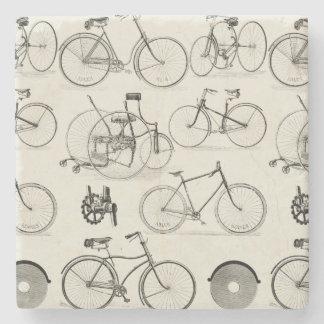 Vintage Bicycles Stone Coaster