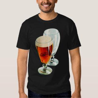 Vintage Bier Frosty Beer Glasses Illustration Shirt