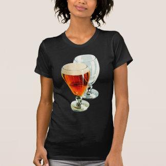 Vintage Bier Frosty Beer Glasses Illustration T-shirt
