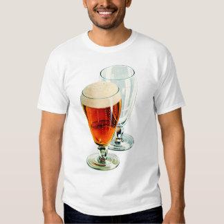 Vintage Bier Frosty Beer Glasses Illustration T Shirts