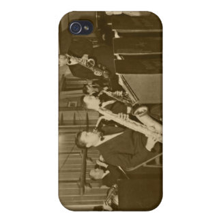 Vintage Big Band Sax iPhone 4 Cases