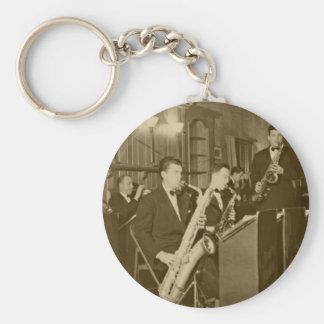 Vintage Big Band Sax Keychain