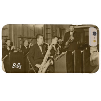 Vintage Big Band Sax Personal Barely There iPhone 6 Plus Case