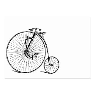 Vintage Big Wheel Antique Bicycle Business Card Templates