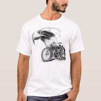 Vintage Bike and Eagle T-Shirt