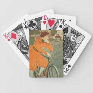 Vintage Bike Art Nouveau Advertisement Cards