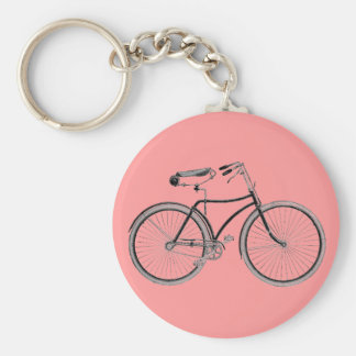 Vintage Bike Old Fashioned Bicycle Cycling Key Chain