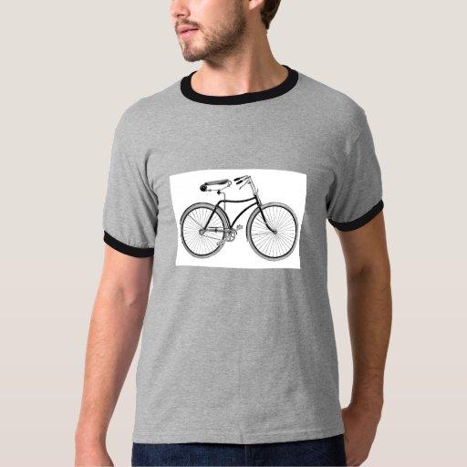 Vintage Bike Old Fashioned Bicycle Cycling Tshirts