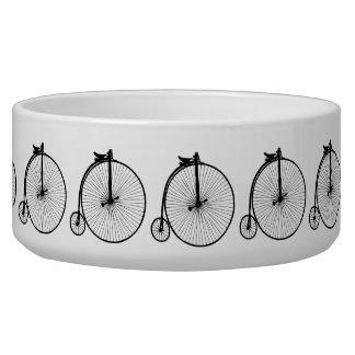 Vintage Bike Pet Bowl