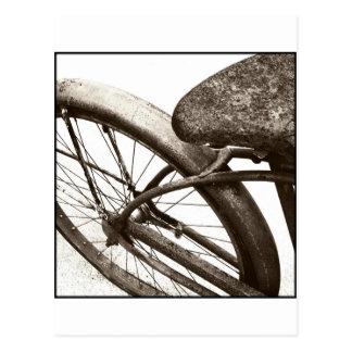 Vintage Bike Postcard