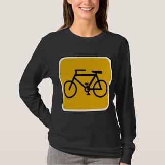 Vintage Bike Road Sign T-Shirt