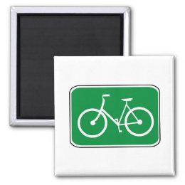 Vintage Bike Sign Magnet