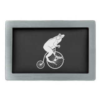 Vintage Bike with Frog Rider Belt Buckle