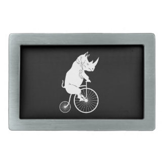 Vintage Bike with Rhino Rider Belt Buckle