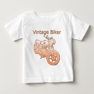 Vintage Biker Baby T-Shirt