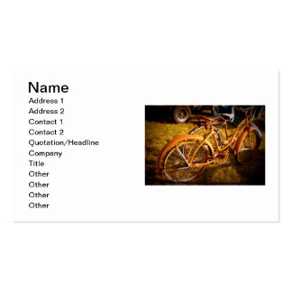 Vintage Bikes Business Card Template