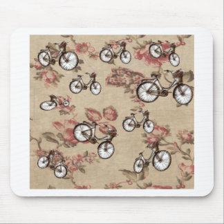 Vintage bikes mouse pad