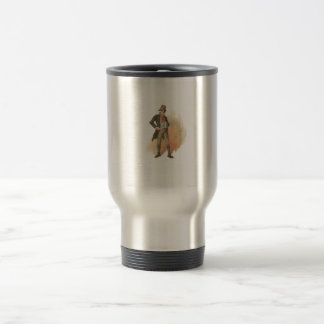 Vintage Bill Sikes Oliver Twist Travel Mug