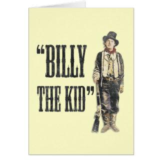 Vintage Billy el niño Felicitacion