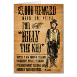 Vintage Billy the Kid Cards