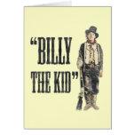 Vintage Billy the Kid Greeting Card