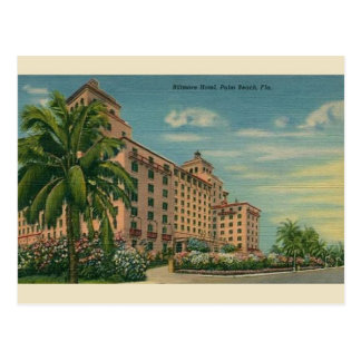 Vintage Biltmore Hotel Palm Beach Florida Postcard