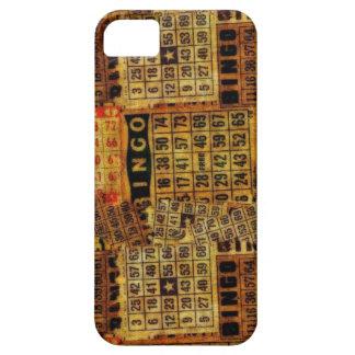 Vintage Bingo Cards Collage - iPhone 5 iPhone SE/5/5s Case