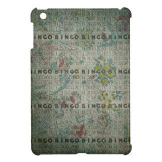 vintage bingo cards flowers iPad mini cover