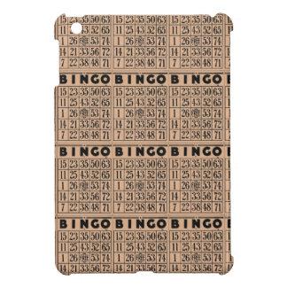 vintage bingo cards iPad mini cases