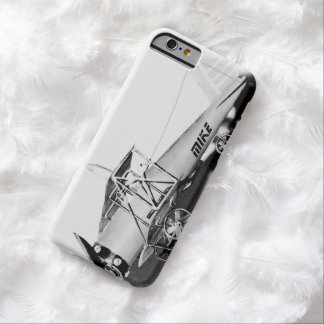 Vintage Biplane Aviator Personalized Barely There iPhone 6 Case