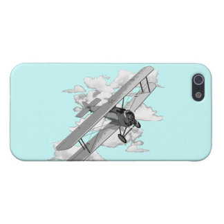 Vintage Biplane Cover For iPhone SE/5/5s