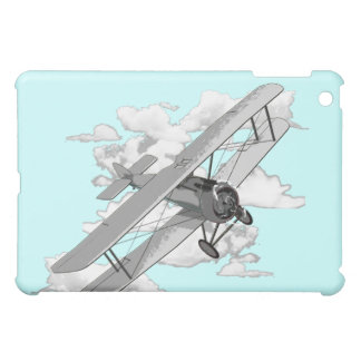 Vintage Biplane iPad Mini Covers